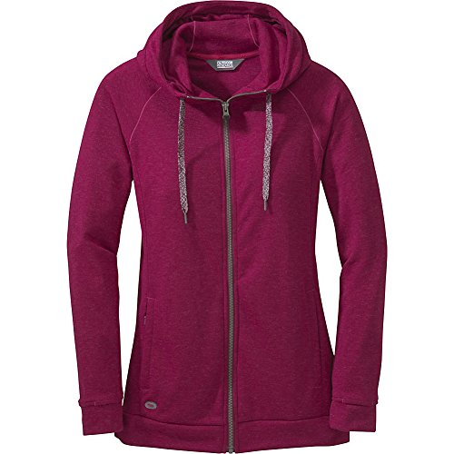 Outdoor Research Ozette Full Zip Women's Hoody raspberry L