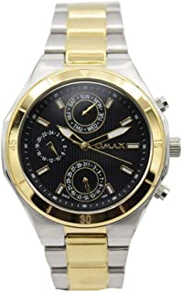 Omax Dress Watch For Men Analog Stainless Steel - 0017SMT26I