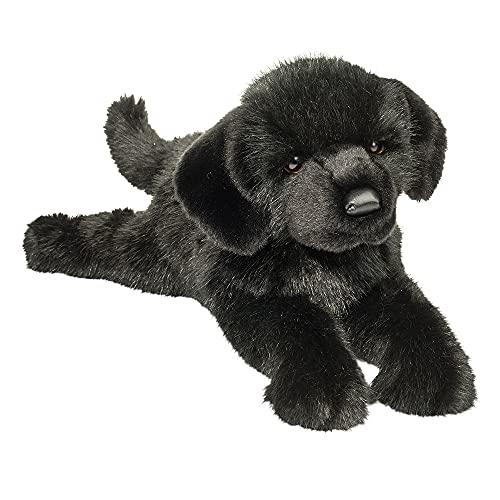 Douglas Jake Black Lab Dog Plush Stuffed Animal -  2449