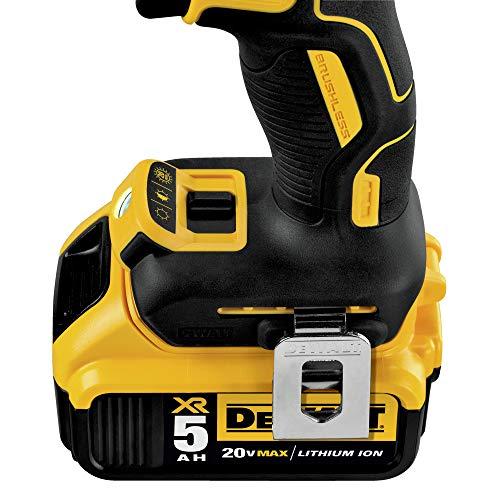 DEWALT 20V MAX XR Brushless Drill/Driver 3-Speed, Premium 5.0Ah Kit (DCD991P2)