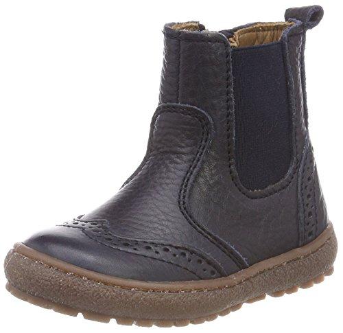 Bisgaard Unisex-Kinder 50702218 Chelsea Boots, Blau (608 Navy), 35 EU