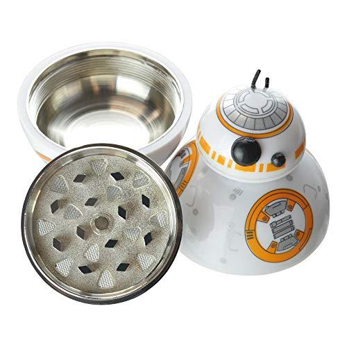 High Supply - Star Wars BB-8 Grinder für Kräuter, Tabak, Gewürze, Herb Crusher, klein, 3-teilig