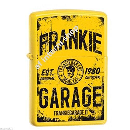 Briquet zippo Frankie Garage jaune