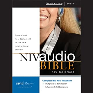 NIV Audio Bible: New Testament (Dramatized)                   By:                                                                                                                                 Zondervan                               Narrated by:                                                                                                                                 Zondervan                      Length: 18 hrs and 32 mins     37 ratings     Overall 4.3