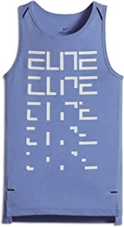 Boy's Dry Elite Dri-Fit Polar Tank Top Shirt Blue 848474 487
