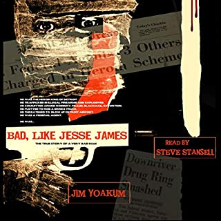 Bad, Like Jesse James audiobook cover art