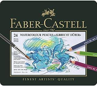 Faber-Castell Albrecht Dürer Watercolor Pencil Tin - 24 count 117524