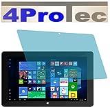 4ProTec I 2 Stück GEHÄRTETE ANTIREFLEX Bildschirmschutzfolie für Trekstor SurfTab Twin 11.6 Volks-Tablet 2016 Displayschutzfolie