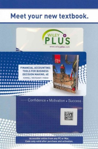 WP Stand Alone Financial Accounting: Tools for Business Decision Making (Wiley Plus Products)