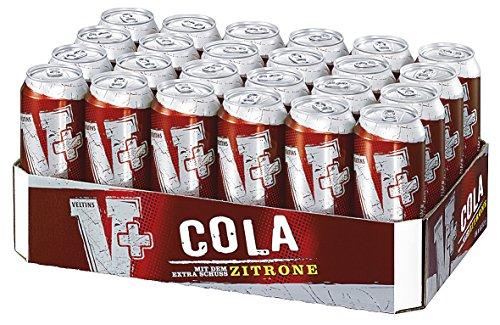 V+ Cola Biermischgetränk, EINWEG (24 x 0.5 l Dose)