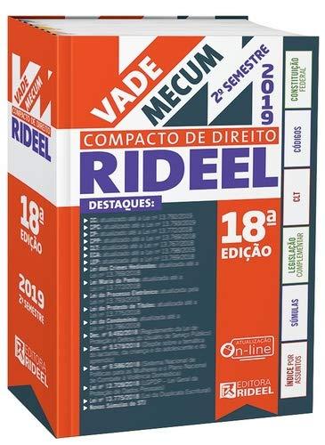 Vade Mecum Compacto de Direito Rideel - 2º Semetre 2019