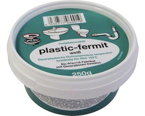 Plastic-Fermit-Aqua | Installationskit | weiß | 250g Dose