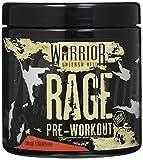 Warrior RAGE Pre Workout Supplement Powder 392g - High Caffeine Energy & Focus