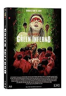 The Green Inferno - Mediabook Cover B - Limitiert auf 300 Stück - Director's Cut (+ DVD) [Blu-ray]