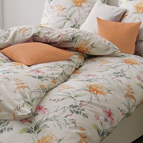 ESTELLA Mako-Interlock-Jersey Bettwäsche 6155-360 orange 1 Bettbezug 155 x 220 cm + 1 Kissenbezug 80 x 80 cm