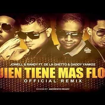 Quien Tiene Mas Flow (Remix) [feat. De La Ghetto & Daddy Yankee]