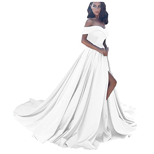 White Long Strapless Gown Amazon Com