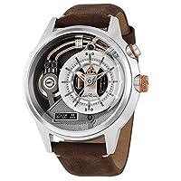[The Electricianz] 腕時計 ZZ-A3C / 01 ザ・スチールZブラウン&シルバーレザーウォッチ [並行輸入品]