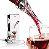 Wine Aerator Pourer and Decanter Spout-Premium Best Aerator Wine Pourer - Wine Pourer- Wine Spout-Slow Mini Wine Air Aerators-Unique Gift Idea for Women, Men, and Wine Enthusiasts