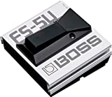 BOSS FS-5U Unlatched Foot Switch, Silver, Momentary Inchunlatch Inch-Type Footswitch