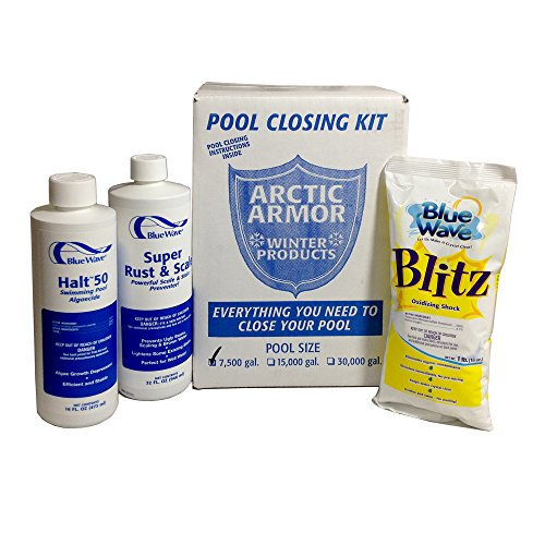 Blue Wave Small Chlorine Free Pool Winterizing Kit