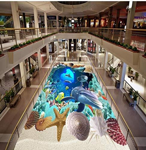 3D-schilderkunst vloerbehang van pvc, met 3D 3D-motief, dimensionaal schilderwerk, moderne gebruikergedefinieerd 3D-vloerbedekking. 350cm(L)x245cm(W)