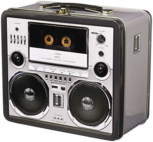 Aquarius Boombox Large Tin Fun Box