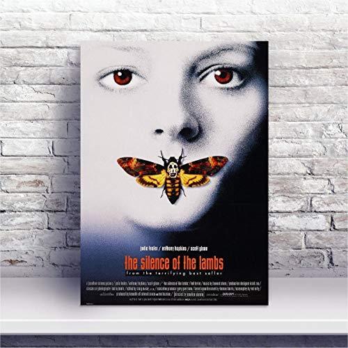 Placa MDF Filme O Silêncio dos Inocentes