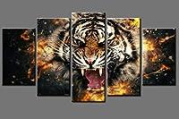 5個はポスター1枚ポスター壁アートクリニークは、リビングルームなしフレームを選ぶためにキャンバスの絵を描くを印刷します (Size (Inch) : 10x15 10x20 10x25cm)