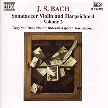 Bach, J.S.: Sonatas for Violin and Harpsichord, Vol.  2