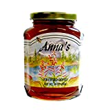 Gourmet Fireweed Honey, 18 oz Glass Jar - Natural, Raw Honey - by Anna's Honey (Pack of 3)