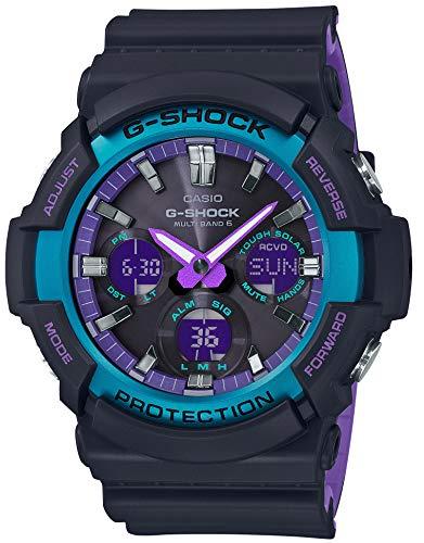 [カシオ] 腕時計 ジーショック 電波ソーラー GAW-100BL-1AJF メンズ