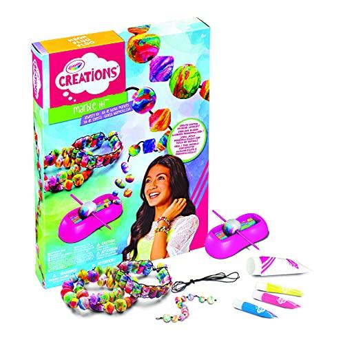 Crayola Creations - 04-6859-0-000 - Kit de Bijoux - Marble it
