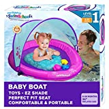 SwimSchool Infant Baby Pool Float with Splash & Play Activity Toys,...