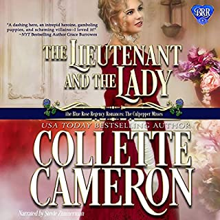 The Lieutenant and the Lady  audiobook cover art