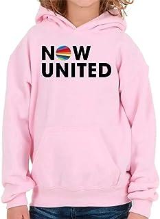 Moletom Polo Blu INFANTIL Now United Rosa
