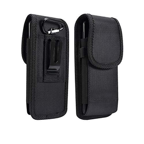 Clips de cinturón de teléfono universal vertical para el cinturón de la funda de la bolsa de la bolsa de la funda para Samsung S10e/S9/S8/S7/A40