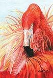 Toland Home Garten-Fahne, Flamingo, Tutu, 71,1 x 101,6 cm, dekorativ, bunt, Tropische Rosa