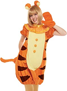 Disney Winnie The Pooh - Tigger Costume - Teen/Women's Std Size Orange