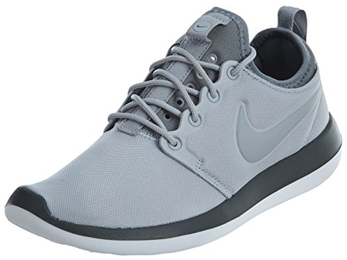 Nike W Roshe Two, Zapatillas Mujer, Gris (Wolf Grey/Wolf Grey/Cool Grey/Anthracite/White), 36 EU