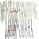 SMD 0805 Resistor Kit,Ltvystore SMD Chip Fixed Resistor Assortment Set 0805 1% 1/8W 0.125W...