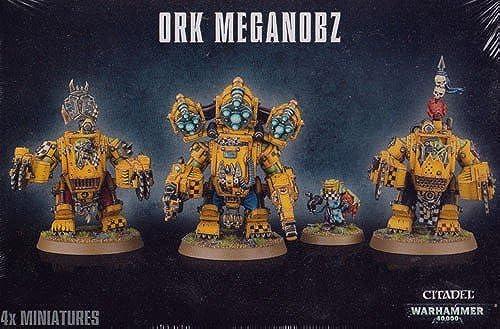 Warhammer 40.000 Ork Meganobz Big Mek