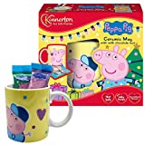 Peppa Pig Tazza di Cacao Porcellana E Cioccolato Latte IN Regalo Peppa Wutz