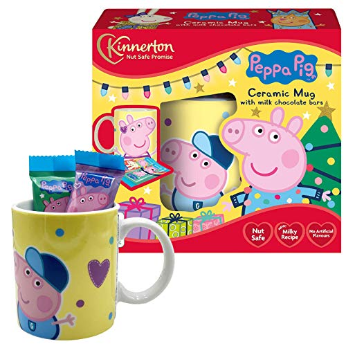 Peppa Pig Mug Set with Milk Chocolate Bars
