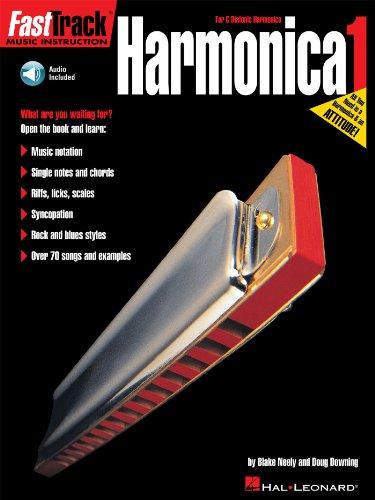 FastTrack Harmonica Method - Book 1: for Diatonic Harmonica (Fast Track (Hal Leonard)) (English Edition)