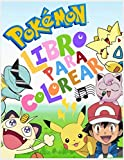 Pokemon Libro para colorear: Dibujos Para Colorear Jumbo Para Niños