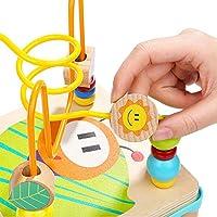 TOP BRIGHT Cubo Multiattività Legno 5 in 1 – Cubo Interattivo - Giochi Bambini 1 Anno, 2 Anni – Gioco Incastri con Forme Legno per Lo Sviluppo Cognitivo #3
