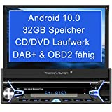 Tristan Auron BT1D7022A Android 10.0 Autoradio I 32GB ROM I 7'' Touchscreen I GPS Navi I Bluetooth Freisprecheinrichtung I USB SD OBD 2 DAB Plus I 1 DIN