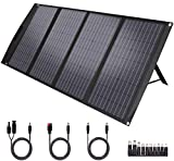 TwelSeavan Solar Panel 120W, Foldable Portable Solar Panel Charger for Jackery/EF ECOFLOW/Goal Zero/Rockpals Power Station, 4...