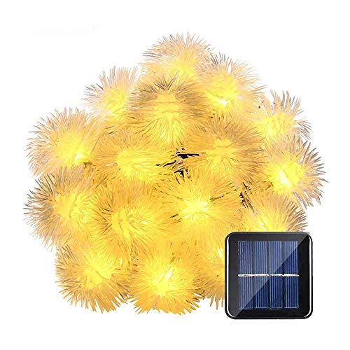 Fairy Lights,String Solar Lights Outdoor Garden Waterproof Fairy Garden Accessories Led String Light for Bedroom Festoon Party Home Decor